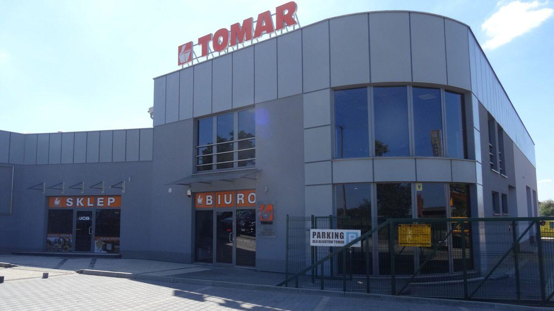 Tomar - lider sprzedaży maszyn JCB